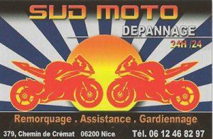 Dépanage moto à Nice